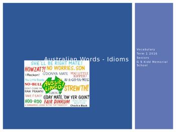 Australian Idioms