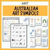 Australian Indigenous Aboriginal Art Symbols - Dot Paintin