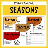 Australian Indigenous Aboriginal Seasons Calendar & Worksheet - D'harawal