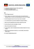 Australian Indigenous Music - Research Task