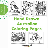 Australian Inspired Coloring Pages