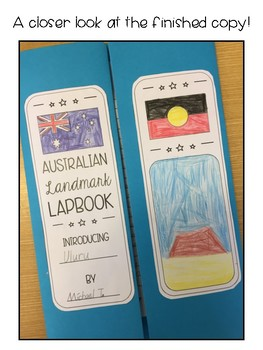 Australian Landmark Interactive Lapbook - Aligned to Geography Outcomes!