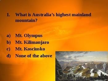 Australian Landscapes Quiz:
