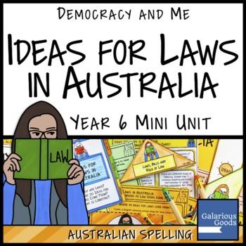 Australian Law Ideas (Year 6 HASS)