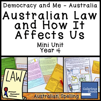Australian Law and How it Affects Us (Year 4 HASS)
