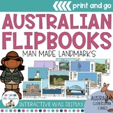 Australian Man Made Landmarks Flipbooks