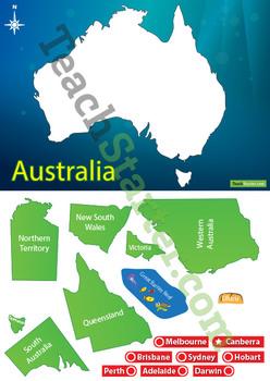 Australian Map Sort