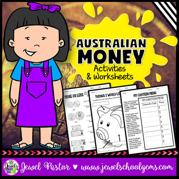 Australian Money Activities and Worksheets
