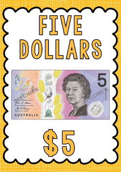 Australian Money Flashcards and Posters