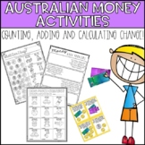 Australian Money Activities - Count, Add & Calculate Change