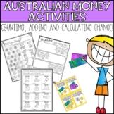 Australian Money Activities - Count, Add & Calculate Change