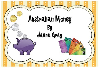 Australian Money Activities - Earn it and spend it!