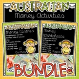 Australian Money Activity BUNDLE