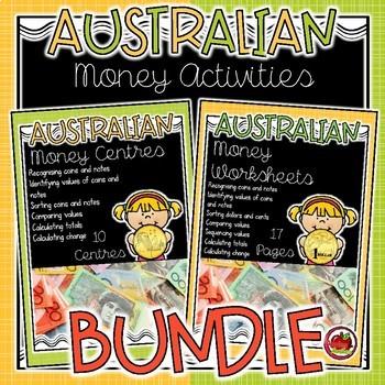 Australian Money Activity BUNDLE