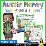 Australian Money BUNDLE Years 1-3 {Games, Puzzles & Worksheets}