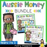 Australian Money BUNDLE Years 1-3 {Games, Puzzles & Worksheets}