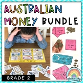 Australian Money BUNDLE - Grade 2 {Money activities}
