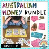 Australian Money BUNDLE - Grade 2   Aussie Money activities