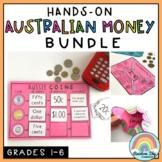 Australian Money BUNDLE (Money Activities for Grades 1-6)
