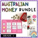 Australian Money BUNDLE - Year 1   Money activities