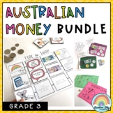 Australian Money BUNDLE - Year 3 Australian Money activities