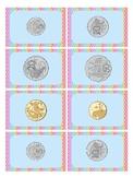 Australian Money 'Battle' Game - Ordering coins
