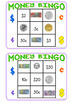 Australian Money Bingo Game