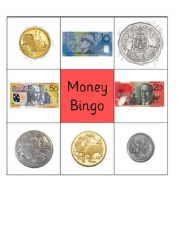 Candid image in money bingo printable