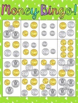australian money bingo by miss gorton 39 s class teachers pay teachers. Black Bedroom Furniture Sets. Home Design Ideas