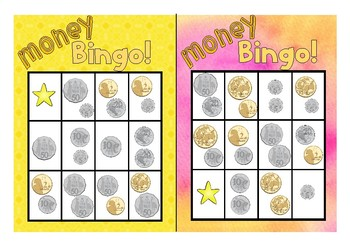Australian Money Bingo - Math Centre - Curriculum