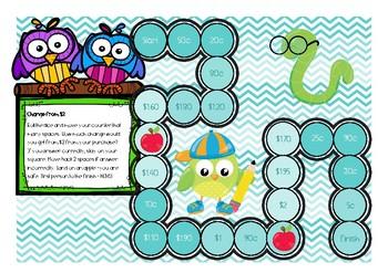 Australian Money Board Games - Math Centres