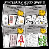 Australian Money Bundle Higher Order Thinking HOTS Grade 2