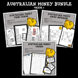 Australian Money Bundle Higher Order Thinking HOTS Grade 6