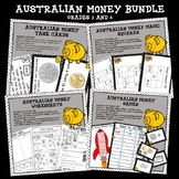 Higher Order Thinking HOTS Australian Money Bundle Grades 3 and 4