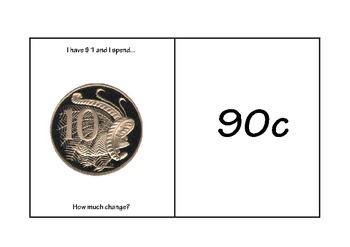 Australian Money - Change from $1
