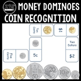 Australian Money - Coin Recognition Dominoes