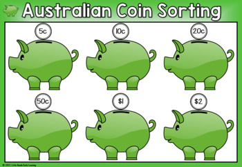 Australian Money Coin Sorting Mats
