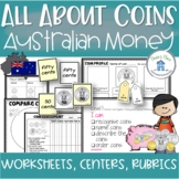 Australian Coins Money Worksheets