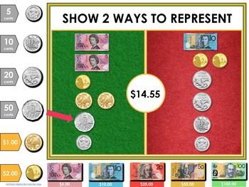 Australian Money Digital Interactive Resource (Google Classroom / iPad / IWB)