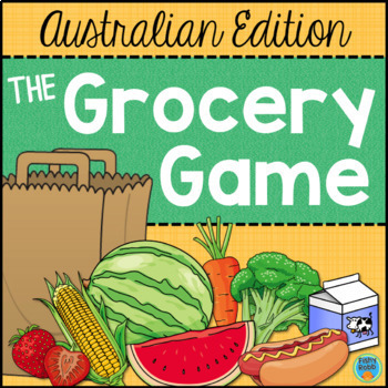 Australian Money Game - Counting Coins - The Grocery Game