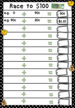 Australian Money Game Higher Order Thinking HOTS Grade 6