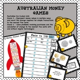 Australian Money Games Higher Order Thinking HOTS Grades 3 and 4
