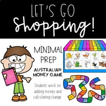 Australian Money Game - Let's Go Shopping!