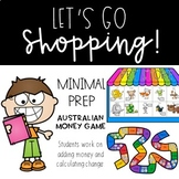 Australian Money Game - Let's Go Shopping!