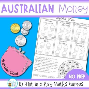 Australian Money Games - Australian Coins