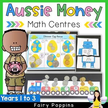 Australian Money Games, Puzzles and Activities