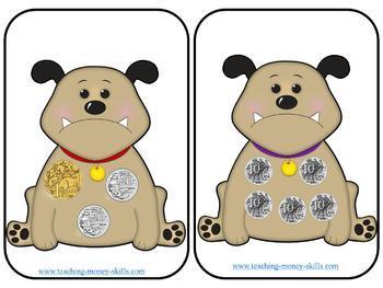 Australian Money Games and Math skills workbook- BUNDLE