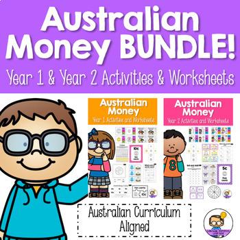 Australian Money Year 1 and Year 2 Bundle