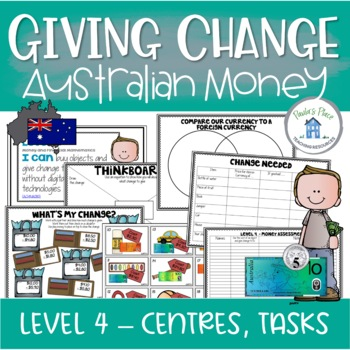 Australian Money Giving Change