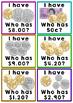 Australian Money: I Have, Who Has?